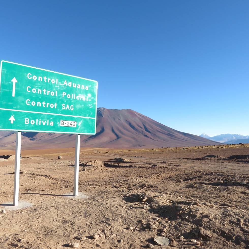 Boarder Crossing, Bolivia
