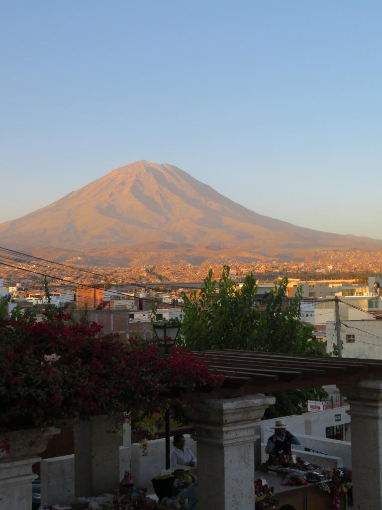 Volcano Sunset Arequipa